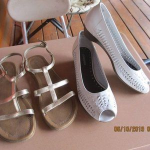 Women's size 9 summer shoes and sandals